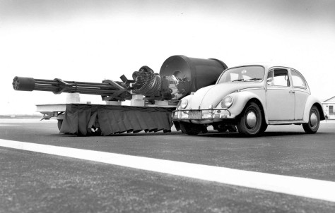 Y'know, the GAU-8?  That thing?  Yeah.  It's a thing of destructive beauty.