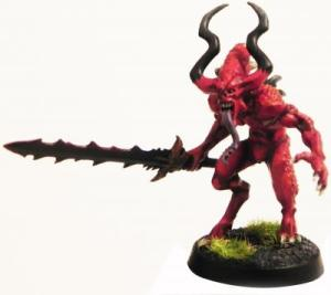 "Mr. Oak, Dr. Khorne will see you now....  ""What's this?  You have have blood for the blood god????"""
